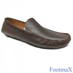 Loafer Shoe Mixed Color leather Style Comfort Sole
