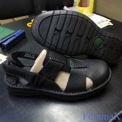 Pure Leather Upper Casual Men Sandals Shoe