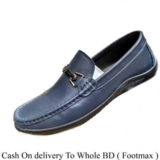 Men's Cow Leather Casual Shoe For Male