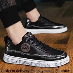 New Arrival  versace stylish men canvas shoes