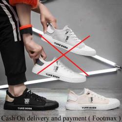 Men Flat Canvas shoes modern style