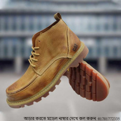 Cat Casual Boot Leather Boot Shoe