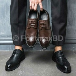 Men Leather Formal Shoe Brock Style