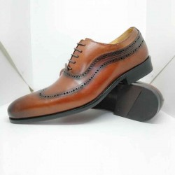 Men Formal Shoe Official Style Brock Style Comfortable Pure Leather Made