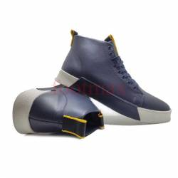 Ankle Leather Casual Boot Style Sneaker Men
