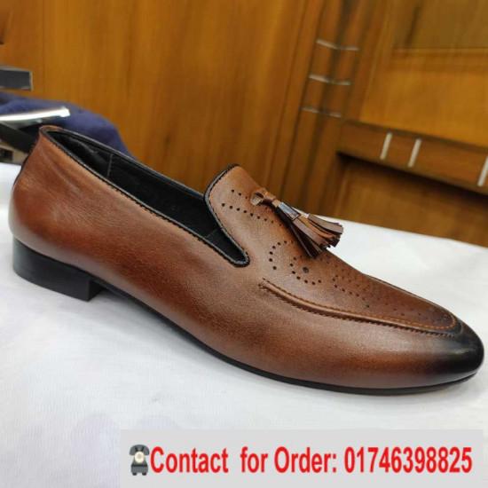 Comfortable Leather Moccasins Shoe All seasons  Casual Shoe men