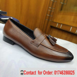Comfortable Moccasin Casual ,all seasons all occasion pure leather men shoe