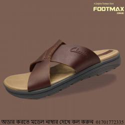 Clarks Leather Comfortable Sandals Men Soft Type Leather Men