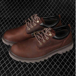 CAT Casual Outdoor Men Boot Shoes Genuine Leather