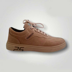 Casual Sneaker Shoes Men Pig leather
