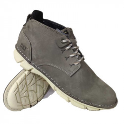 CAT Casual Genuine Leather Boot Shoes Men One Layer Leather