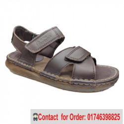 Dr Martens Casual Leather Sandals Transparent Creep Sole