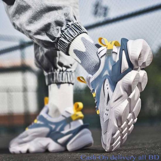 Men Outdoor Casual Shoe Sports Shoe Mesh  Breathable Lightweight  Comfortable  EVA Sole