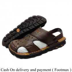 Pure Leather Comfortable Hush Puppies Leather Sandals