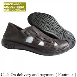 Shoe-cam sandals Men Cowhide Soft insole material