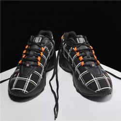Black White Men Running  Sports Shoe men