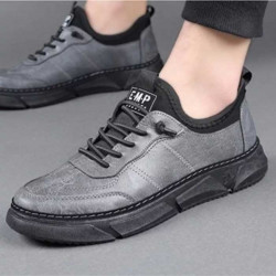 Black Casual Sneaker Canvas Shoe Mens fashion Shoes