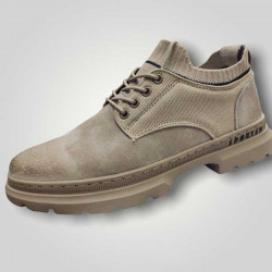 Casual Men New fashion Leather Casual Shoes Lace up