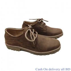 Cow Leather Men Casual Leather Lace Shoe Men Martin Shoe Outdoor Seasons
