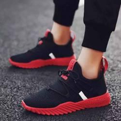 men mixed color sneaker shoe for boys denim upper