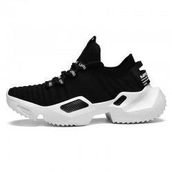 Men Hill Sneaker Denim & Leather Rubber Stylish